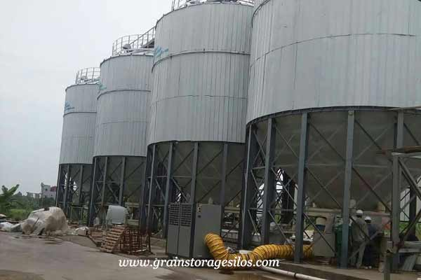 feed insulation silo