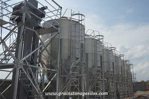 feed pellet silos of shelley engineering