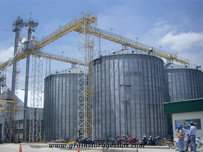 grain storage silos home