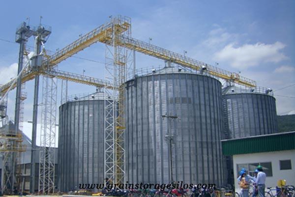 flat bottom silos or flat bottom bins