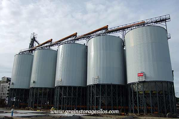 hopper bottom insulation silos of shelley engineering