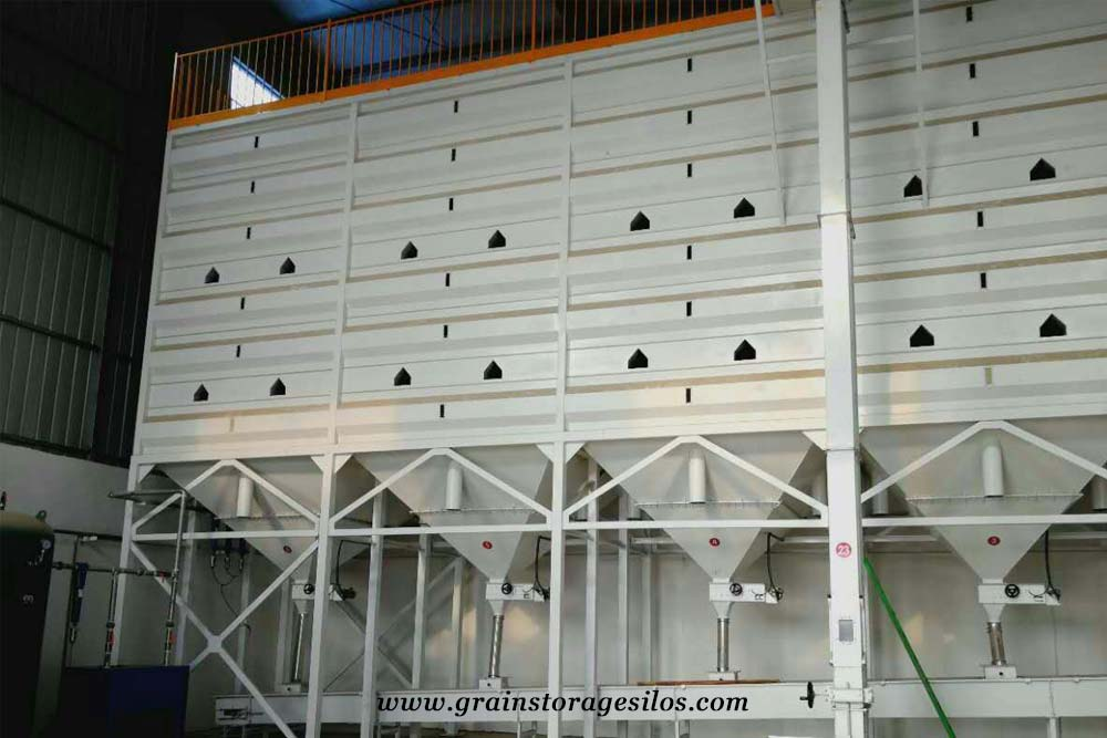 powder bin or powder silos