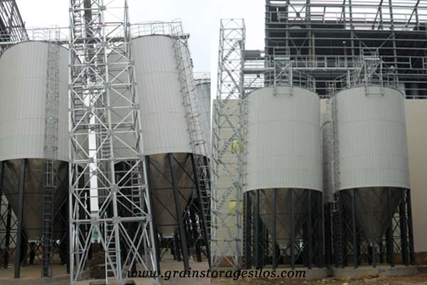 powder insulation silos