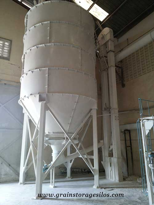 powder silo of shelley engineering