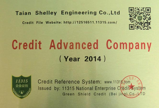 Credit Advanced Companies of Shelley Engineering