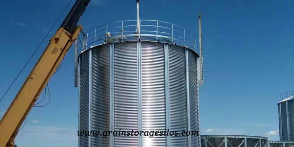 Cylindrical hopper silo body of Shelley Engineering