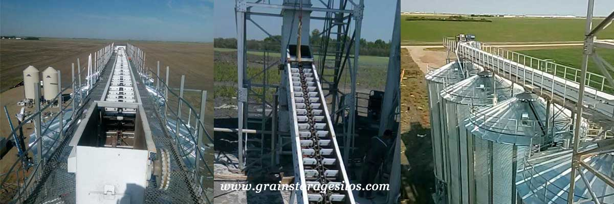 High Quality Grain Drag Conveyor For Grain Storage Silos