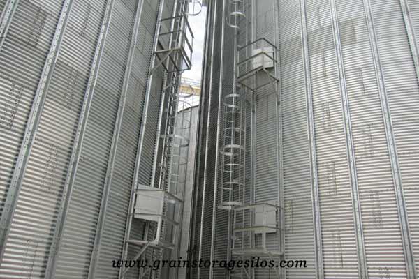 Corrugated Silo Body of flat silos