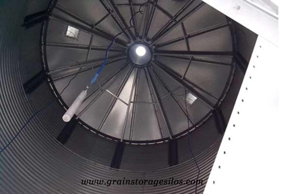 Temperature Monitoring sensor for steel silos