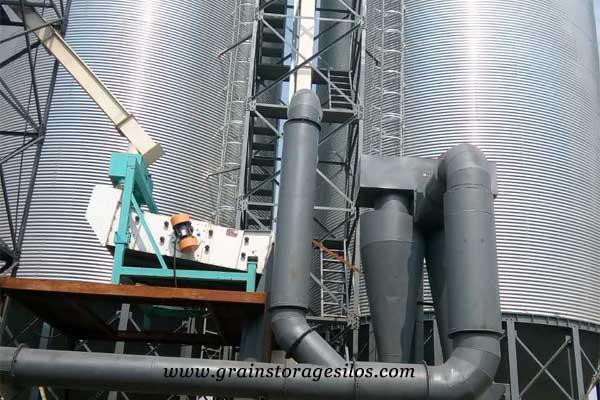Vibrating Screen for grain storage silos
