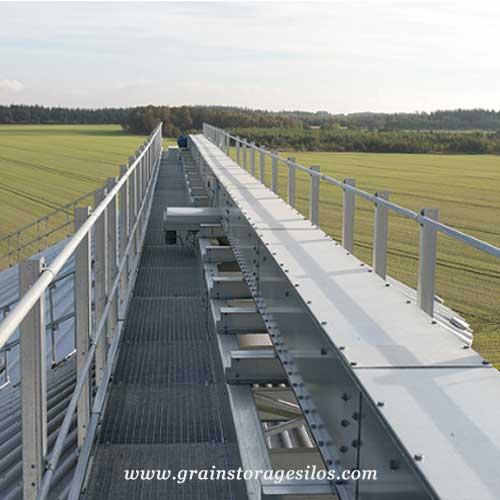 belt conveyors for grain handling