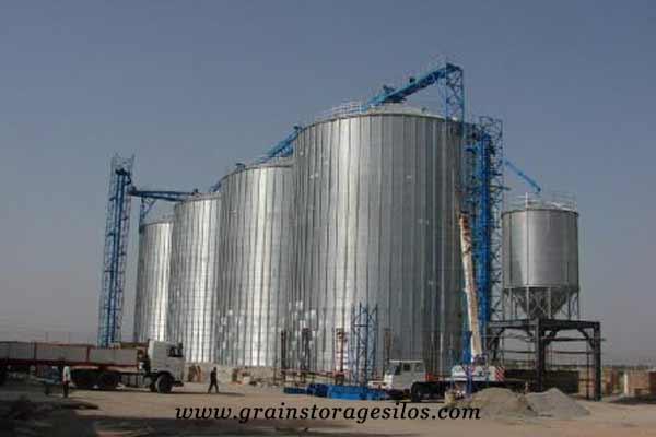 flat bottom silos America of Shelley Engineering