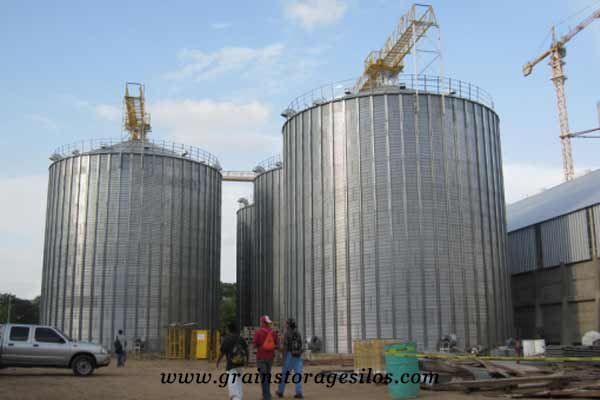flat bottom silos Argentina of Shelley engineering