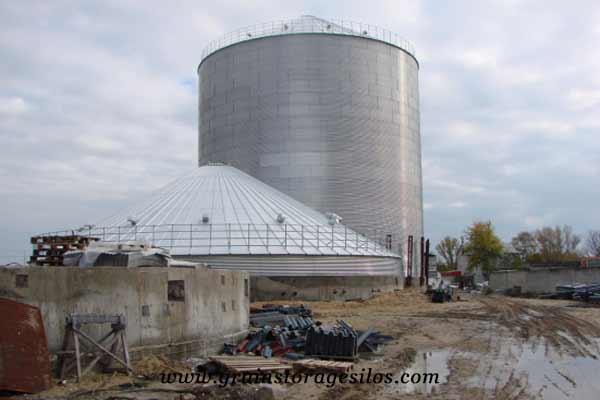 flat bottom silos Uganda of Shelley Engineering