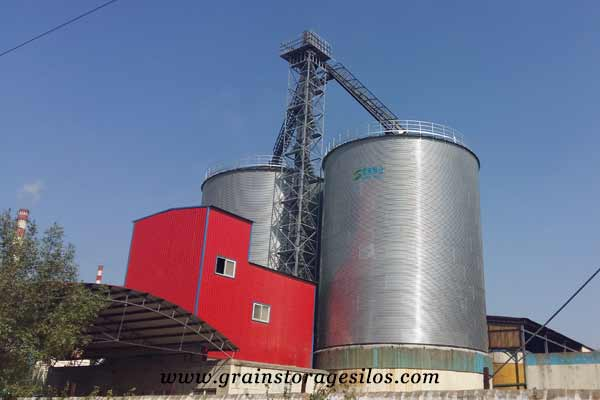 flat bottom silos of China Hebei of shelley engineering