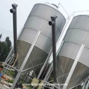 screw conveyor for grain storage silos
