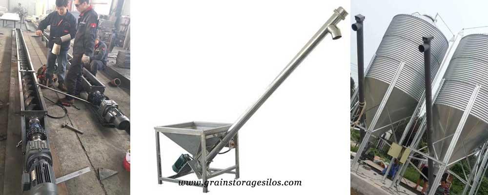 screw conveyor for hopper silo
