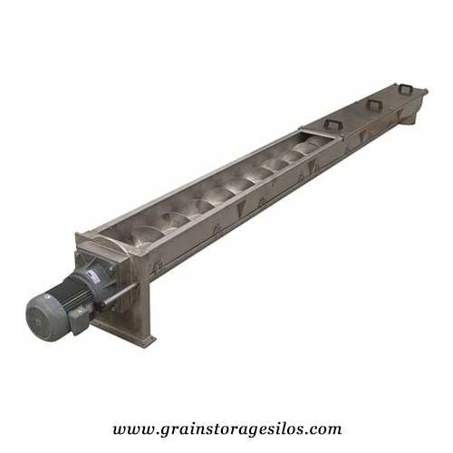 screw conveyors for steel storage silos