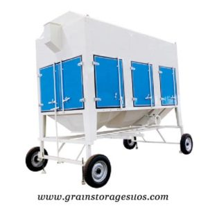 vibrating screen machine for grain silos
