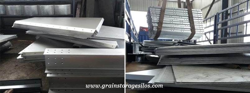 Flour Storage Bin was delivered to Chongqing