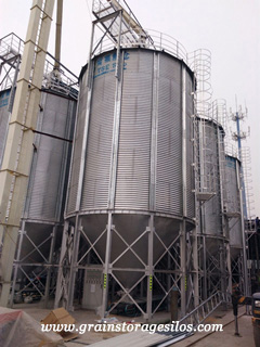 steel grain bin operation guidelines of tse silo