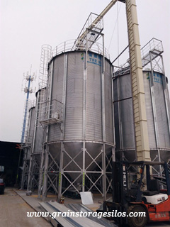 steel grain silo operation guidelines of TSE silo