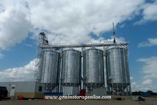 The Features of Assembled Corrugated Steel Silo