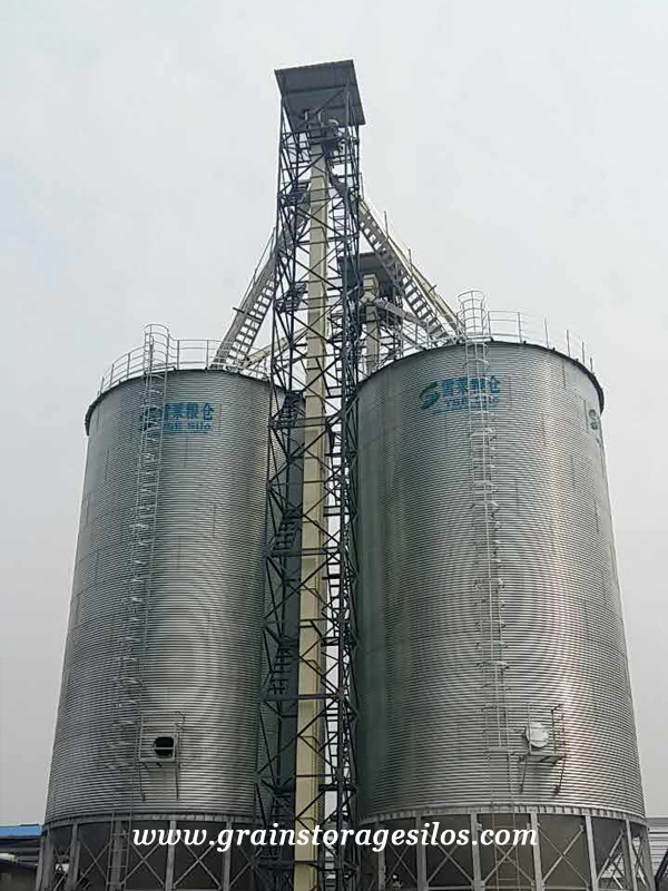 The Feeding Operation Steps of Steel Grain Bins