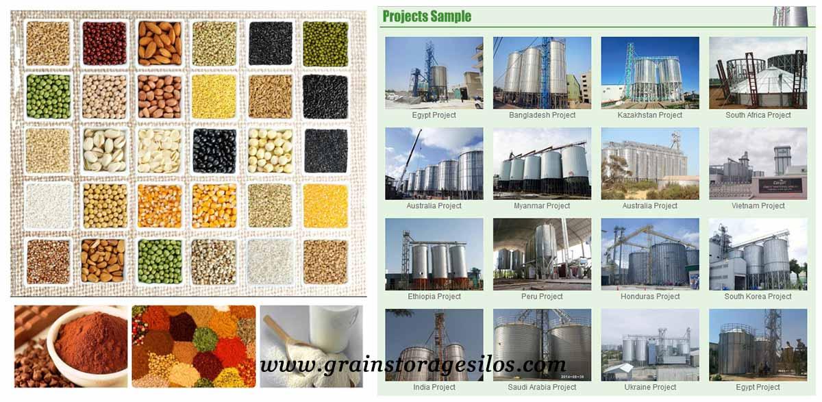 The application Fields of Steel Silos