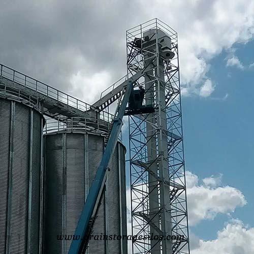 bucket elevator for steel silo