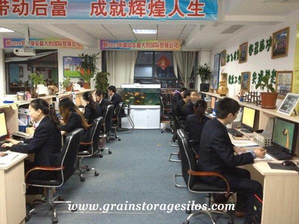 grain silo teamwork - shelley engineering