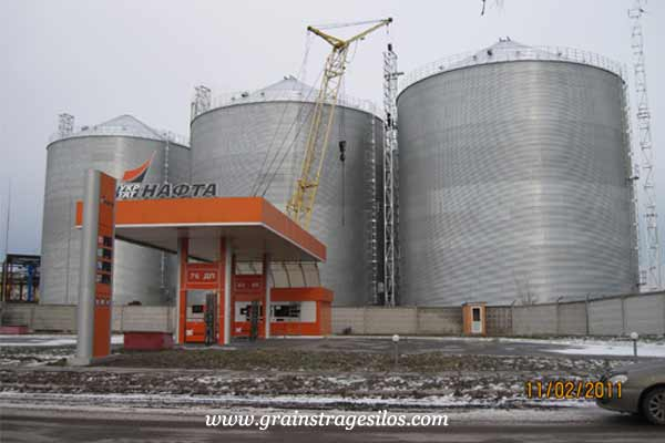 product development of flat bottom silos