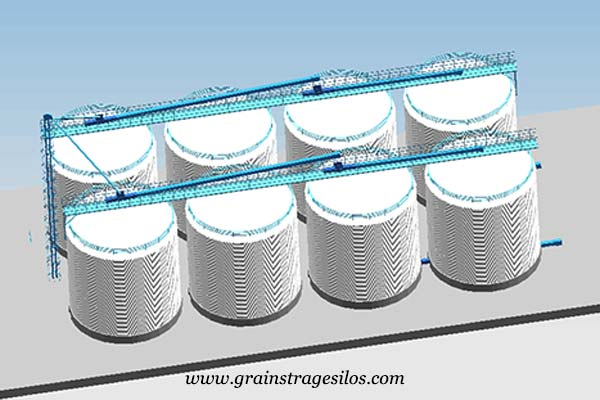 product development of steel flat silo