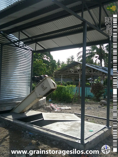 Corrugated Maize Silo in Philippines