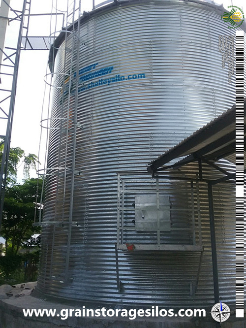 Corrugated grain Silo in Philippines