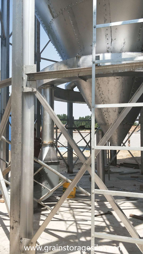 Steel Silo Installation in Shandong Province