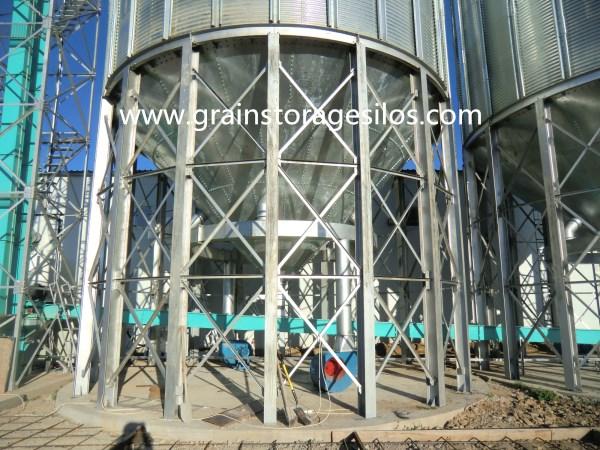 POPCORN GRAIN SILO,corn silo,steel silo,grain silo